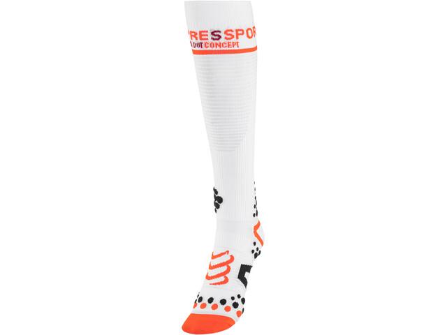 Compressport V2 Full Socks White